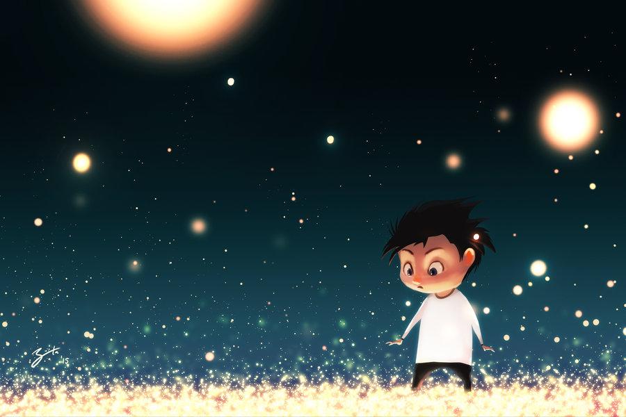 Goro Fujita Garden of Fireflies