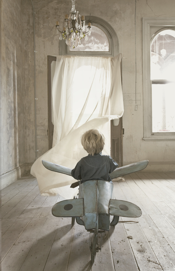 Jeremy Blincoe child aeroplane