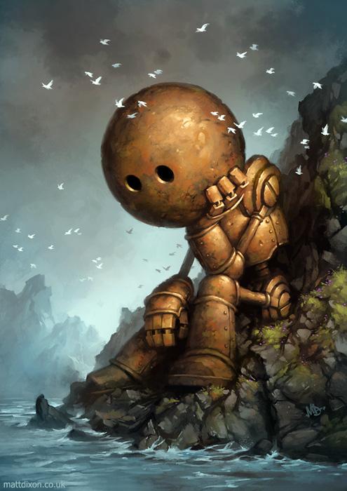 Matt Dixon robot1