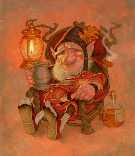 Paul Kidby Gnome Comforts