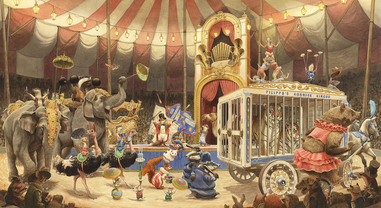Chris Dunn Circus Parade FB