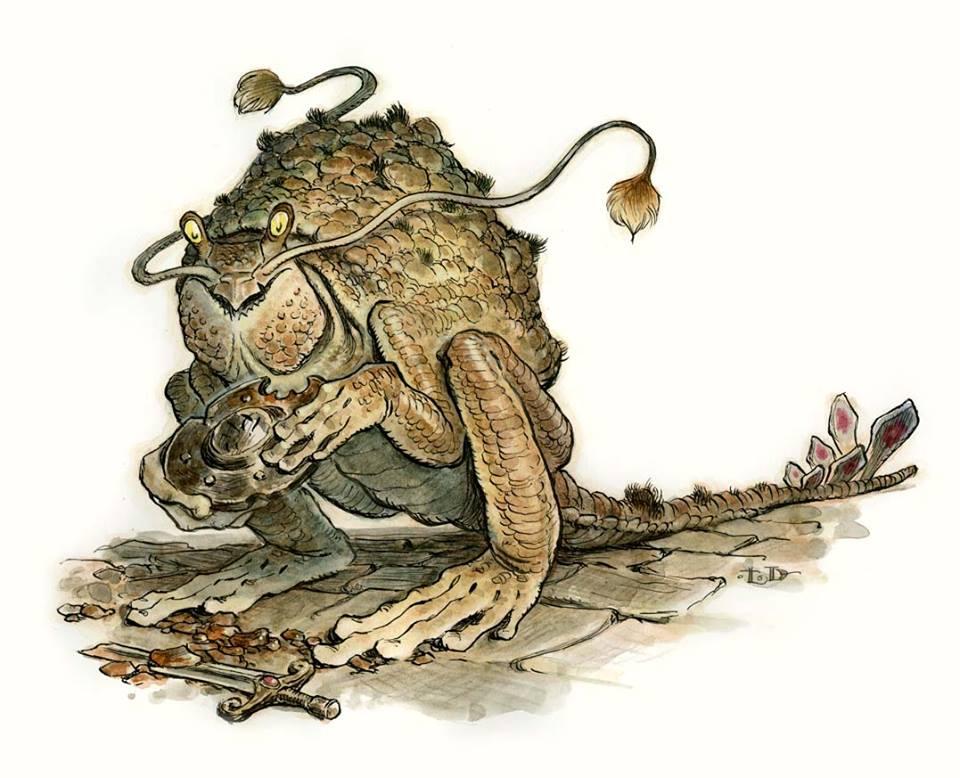 Tony DiTerlizzi Rust Monster.jpg