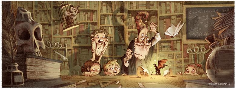 Valerio Fabbretti Wizard School