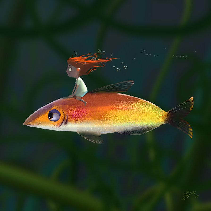 Goro Fujita Fish Rider