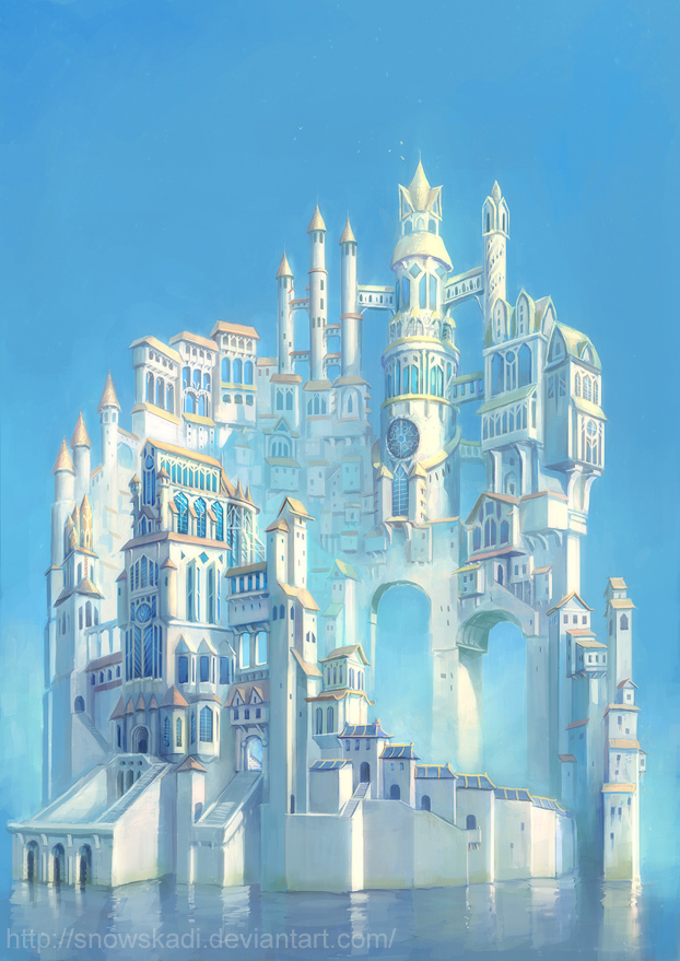 SnowSkadi white tower