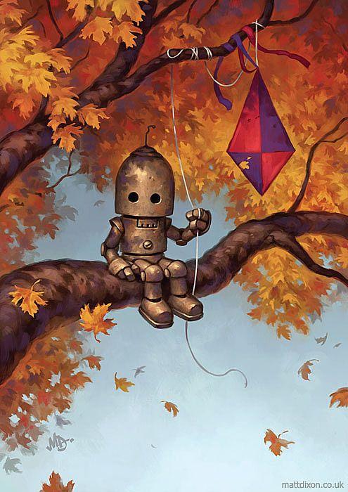 Matt Dixon robot kite