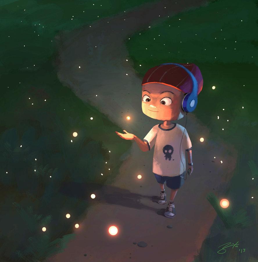 goro-fujita-glowing-friends