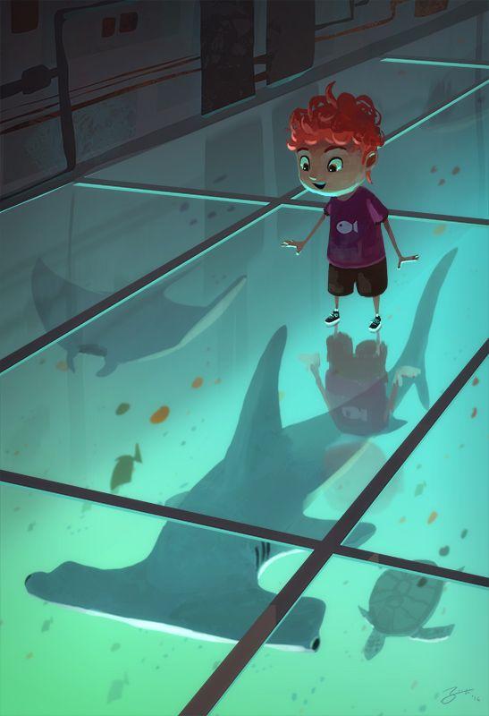 Goro Fujita under the sea