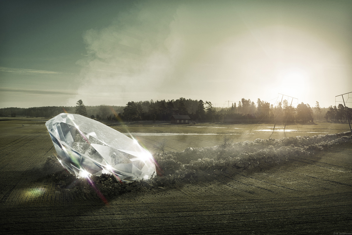 Erik Johansson Diamond in the rough