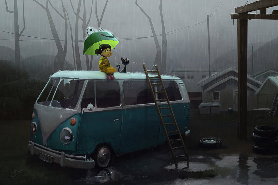 Goro Fujita Another rainy day