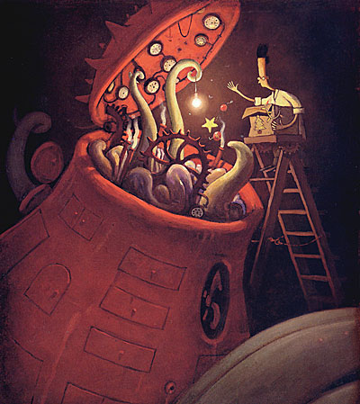 Shaun Tan Feeding Time